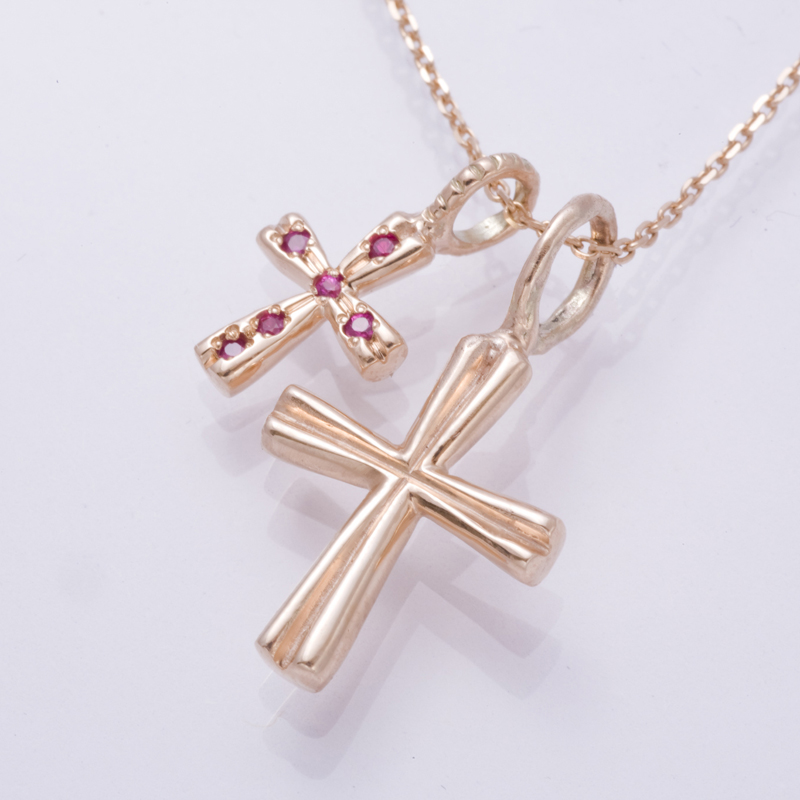 HEART SHAPED CROSS PG