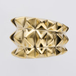 TAPER STUDS III ring gold