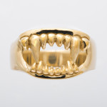 fang ring gold