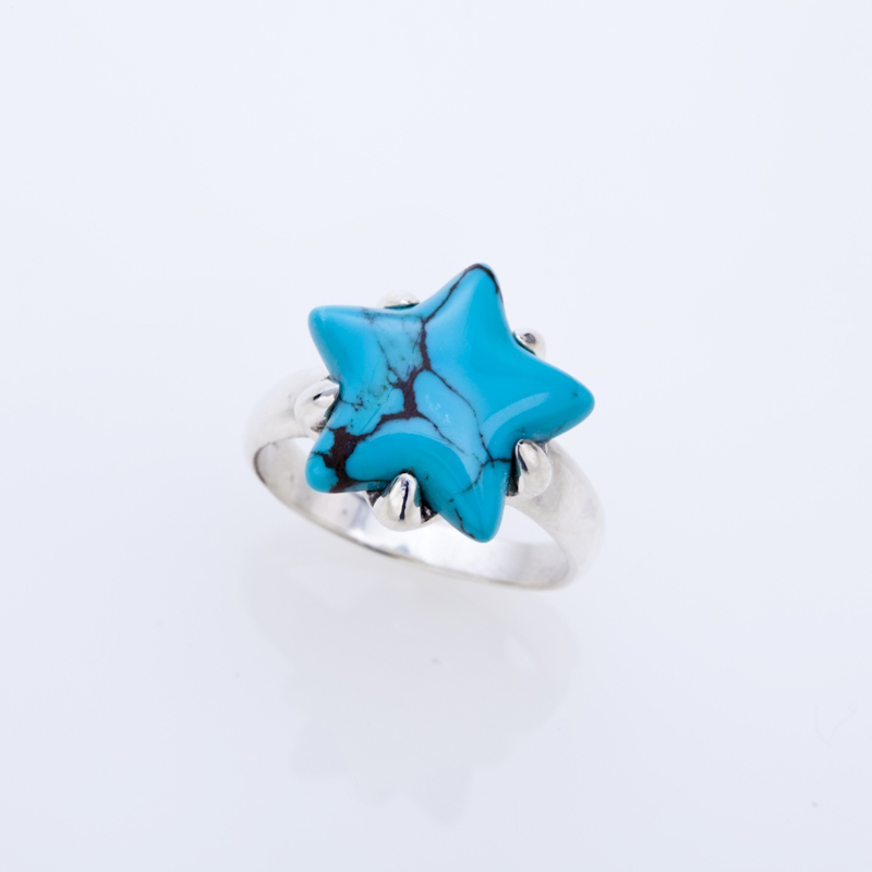 STAR TURQUOISE SV ring