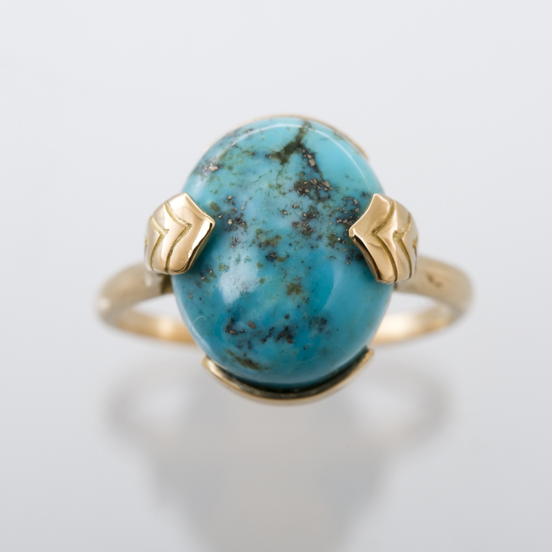 Turquoise ring L